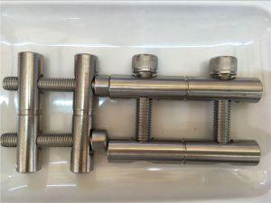 ANSI 316Ti / EN 1.4571, 317L / EN 1.4438 rustfrit stål dele-forbindelsesstangserie