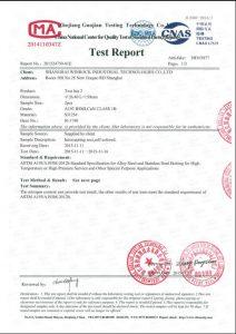 Certifikat til S31254
