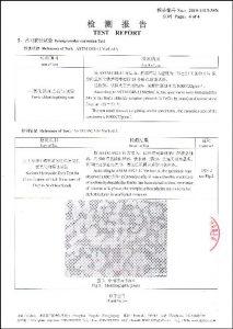 Certifikat til S32750
