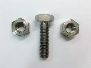 Alloy825 & 800 hex møtrikker i rustfrit stål din934 og 2.4858 en1.4558