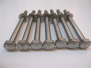 Bedste Qulity Hex Head DIN933 Titanium Bolt Gr2 til salg