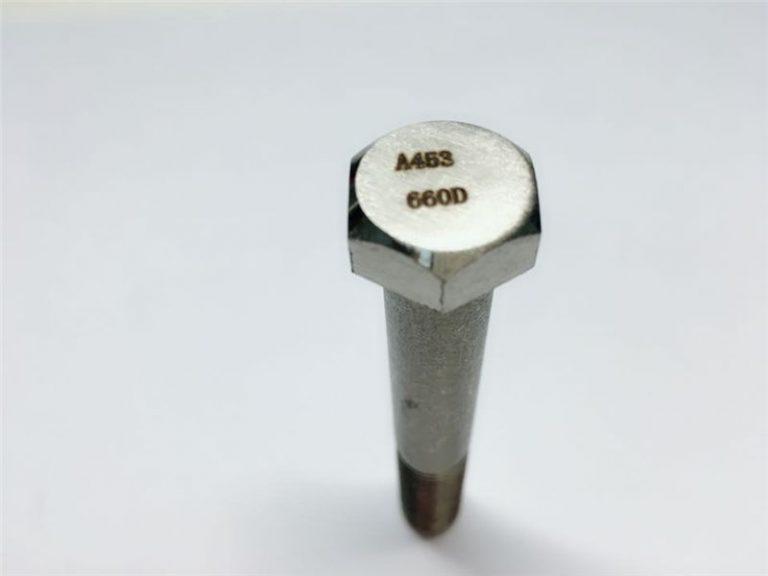 a286 fastgørelsesmidler af høj kvalitet astm a453 660 en1.4980 hardware maskine skruefiksinger