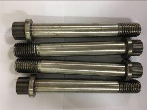 Nikkellegering Inconel 718-uns n07718-EN2.4668 Flange Bolt skrue-fastgørelse