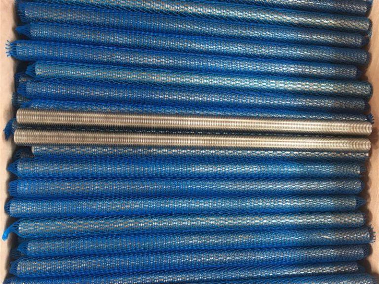 nikkellegering inconel601 / 2.4851 trapezformet gevindstang nye varer