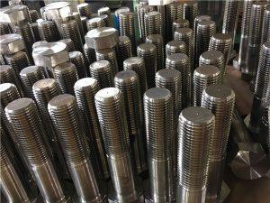 Nr. 12-hexbolte ISO4014 halvtråd A193 B8, B8M, B8T, B8C SS-fastgørelse