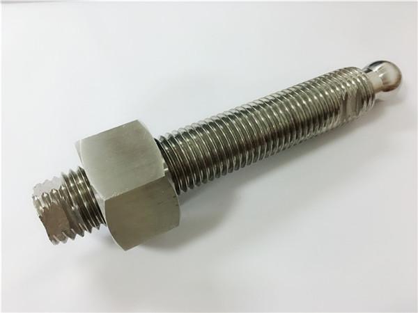 brugerdefineret cnc fræsning rustfrit stål kuglehoved bolt og fastgørelse