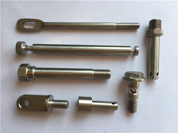 recision rustfrit fastgørelseselementer cnc drejning metalbeslag