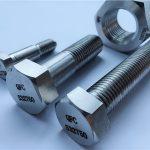 varmgalvaniseret kvalitet 8,8 din933 fuldtråd hexbolt i høj kvalitet