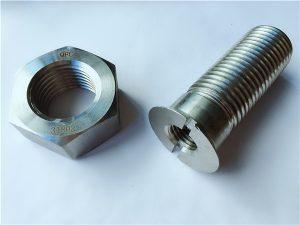 No.55-Duplex 2205 rustfri stålbolte og møtrikker i høj kvalitet
