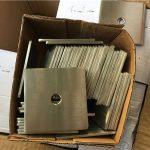 tilpasset super duplex s32205 (f60) firkantet plade skive / fastgørelse af rustfrit stål