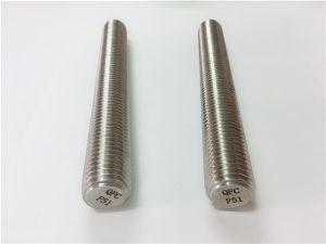 No.77 Duplex 2205 S32205 fastgørelseselementer i rustfrit stål DIN975 DIN976 gevindstænger F51