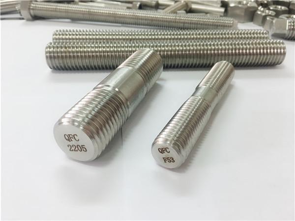 duplex 2205 s32205 2507 s32750 1.4410 hardware af høj kvalitet fastgørelsesindretning træ gevindstang anker