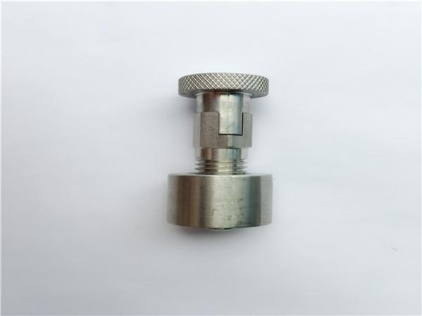 ss304, 316l, 317l, ss410 transportbolt med rund møtrik, ikke-standard fastgørelseselementer