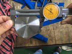 S31803 Hex Cap Skrue Dimension Test