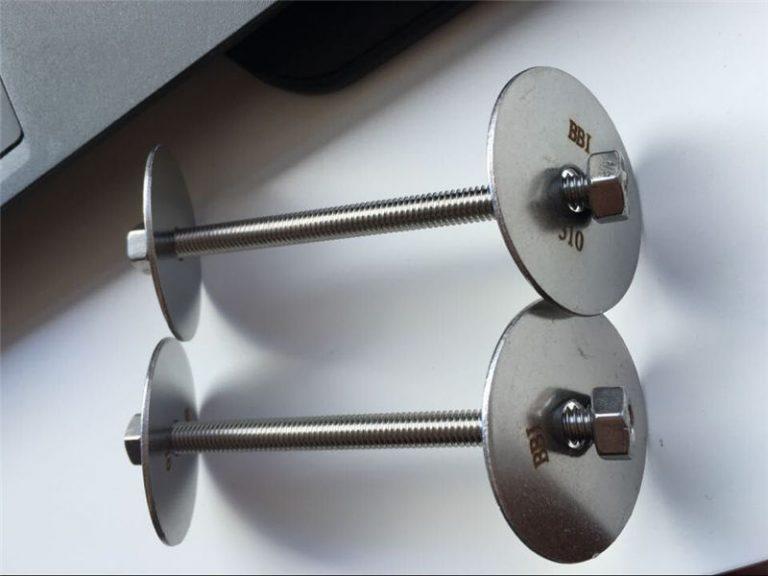 ss310 / ss310s astm f593-fastgørelse, bolte i rustfrit stål, møtrikker og skiver