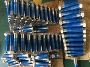 SUS 304L EN1.4306 SS fastgørelsesindretning hexbolte ISO4014 halvtråd