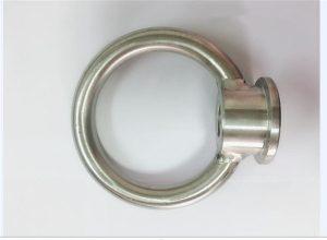 Rustfrit stål løftende øjenmøtrik