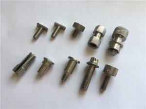 tilpasset ikke-standard skrue med høj præcision, CNC-bearbejdningsskrue i rustfrit stål