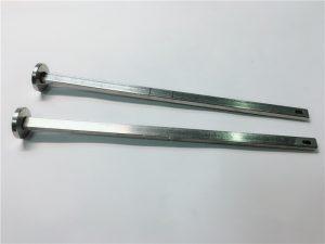 leverandør af hardwarefastgørere 316 rustfrit stål fladhoved firkantet hals din603 m4 transportbolt
