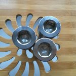 høj kvalitet ASEM hex socket titanium gr2 skrue / bolt / møtrik / skive /