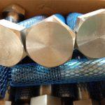 store forsyningsmekaniske fastgørelsesmidler høj srenght tung hex bolt og møtrik