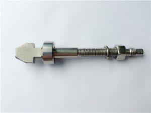 titanium skivebremsebolte med kop- og kegleskiver